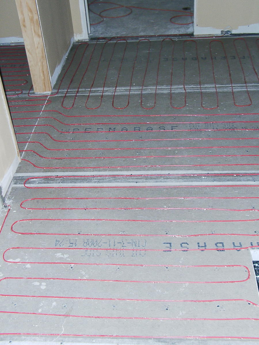 Radiant Floor Heating In Bathroom : Is my radiant heating dream practical hardwood floor