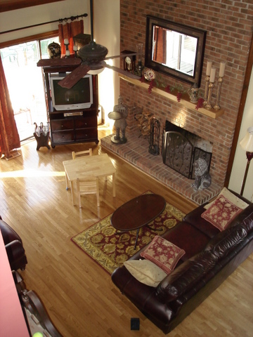 Painting Brick Fireplace (tiling, fireplaces, stove, paint color ...