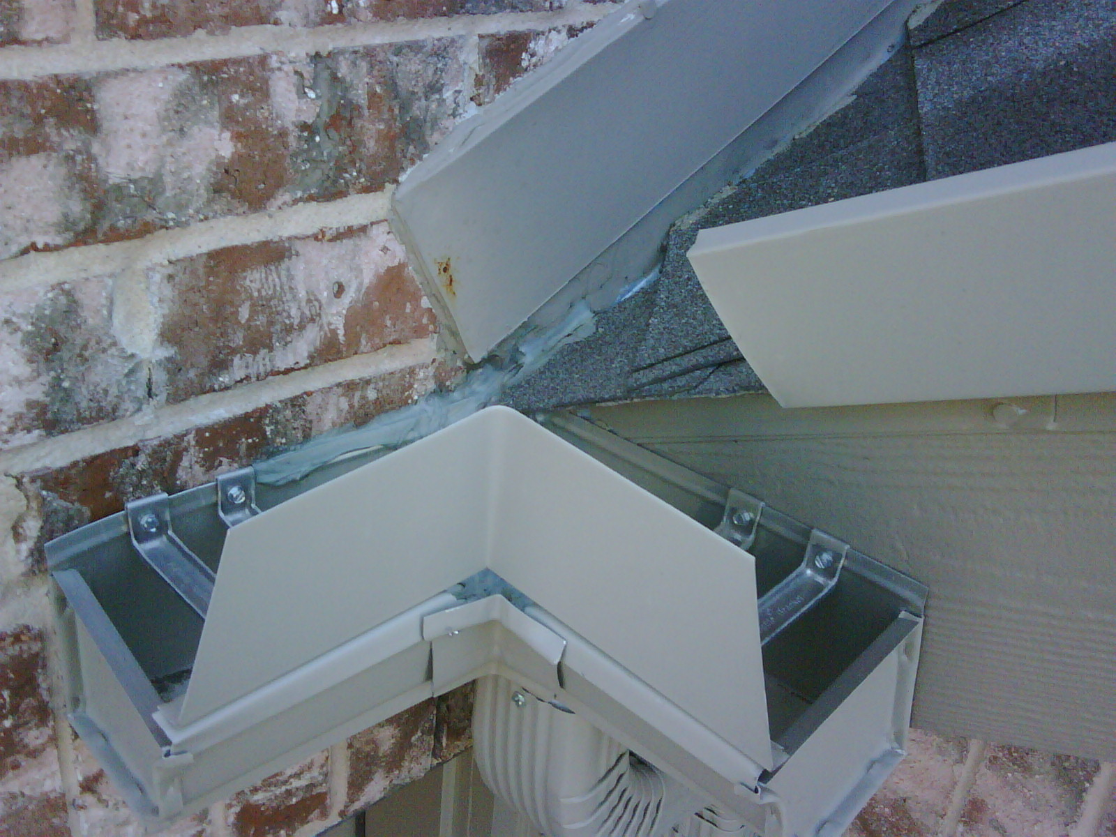 Roofing Wall Flashing Amp Roof Wall Flashing Gutter