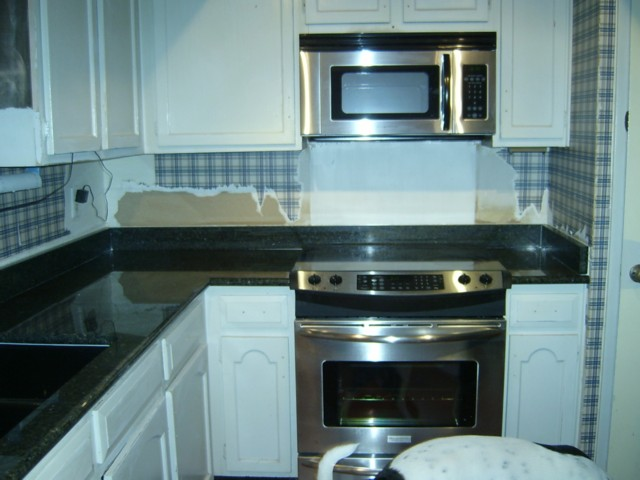 If you painted your kitchen cabinets... (vinyl, interior, tile ...