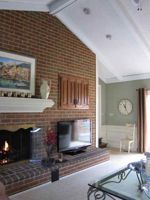 Fireplace Raised Hearth. Fireplace in family room  do you prefer raised hearth or not img 0024