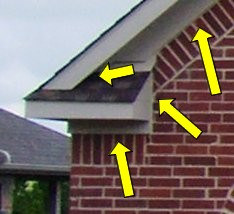 Sealing Awning Gaps From Insects Roofing Paint Building