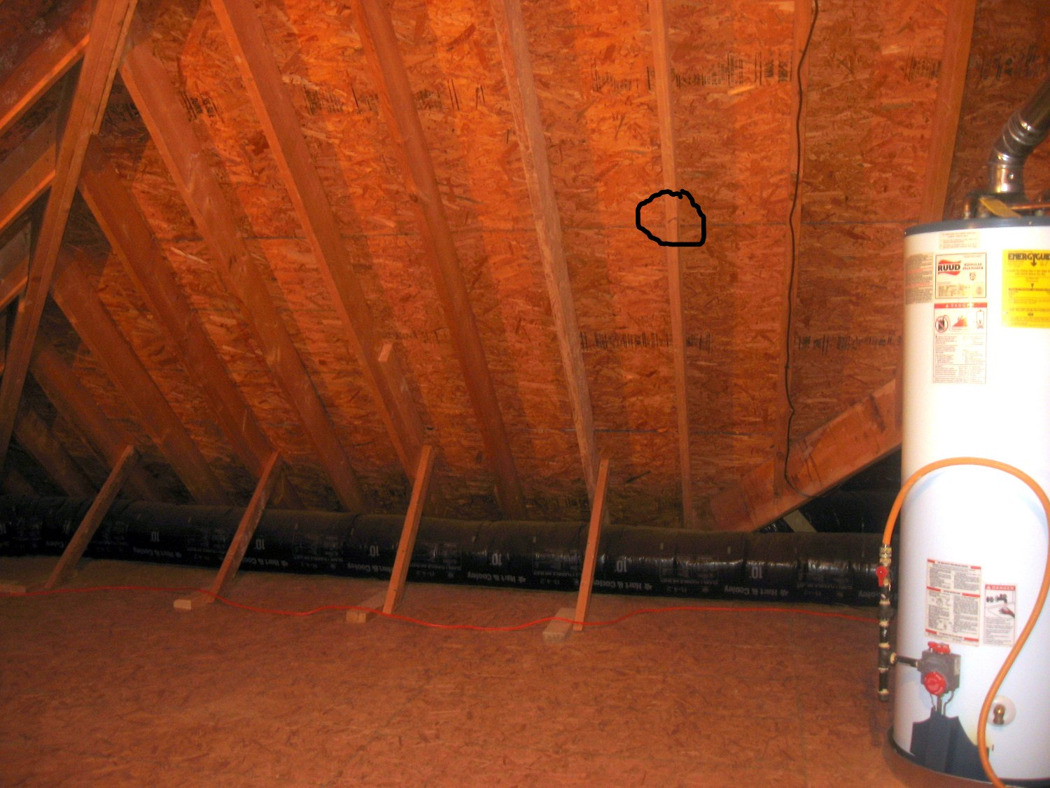 Cracked Roof Rafter Amp How To Repair Roof Rafters