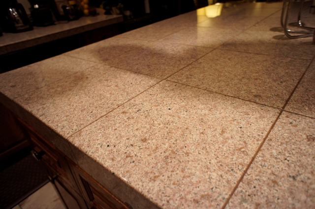 Granite Overlay Countertops : Would you consider this quot granite overlay