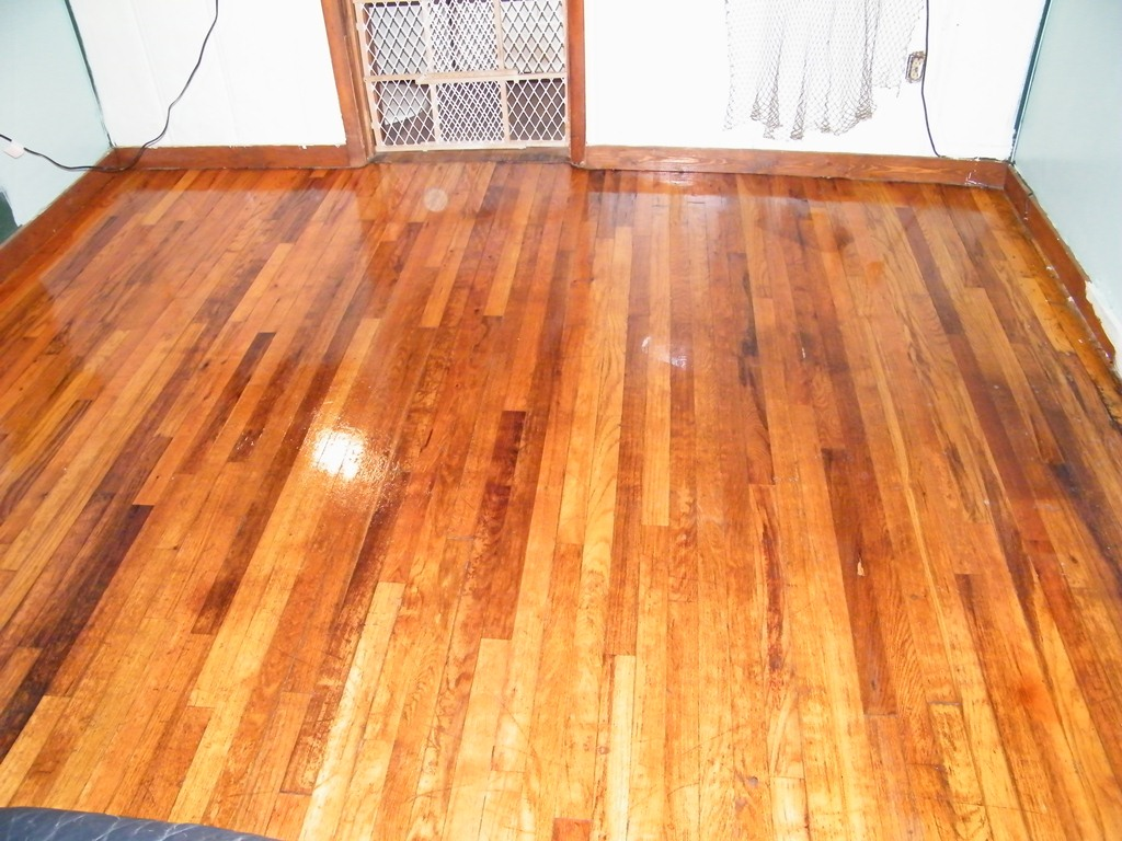 Old Hardwood Floor Refinishing Vacuum Paint Dining Room
