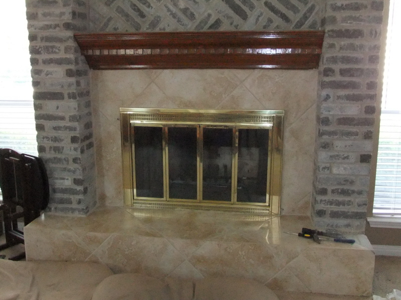 Suggestions for removing thinset from brick fireplace rework start jpg