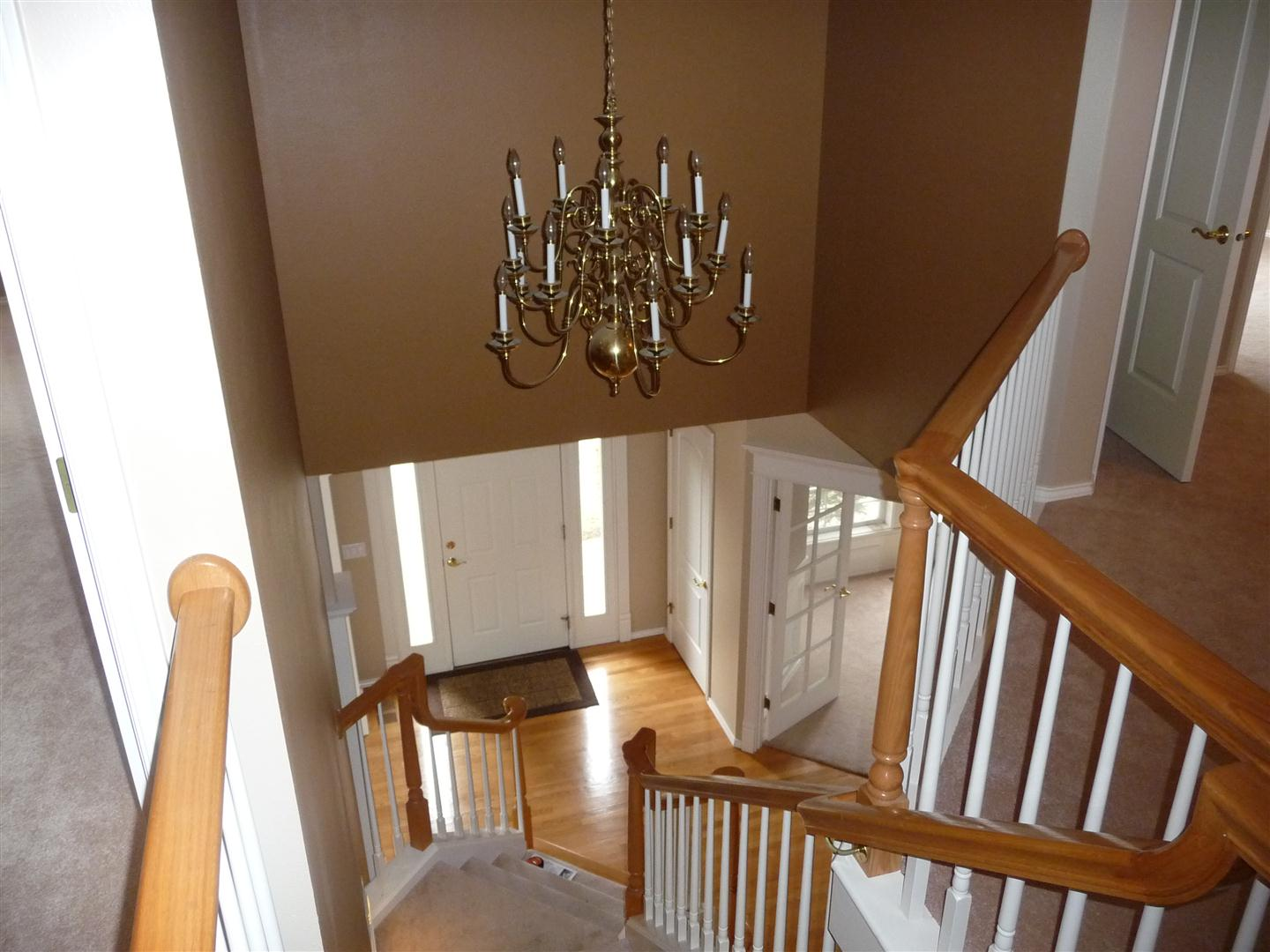 replacing chandelier entry is 2 stories - Foyer Chandeliers