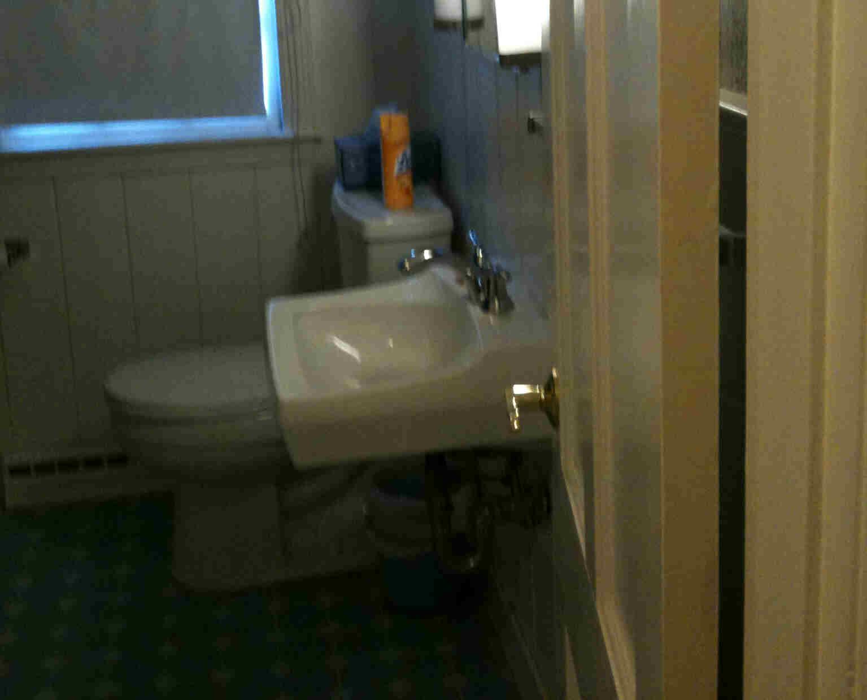 Plumbing Question Switching Plain Sink To Vanity PICS Floor - Installing bathroom vanity with floor plumbing