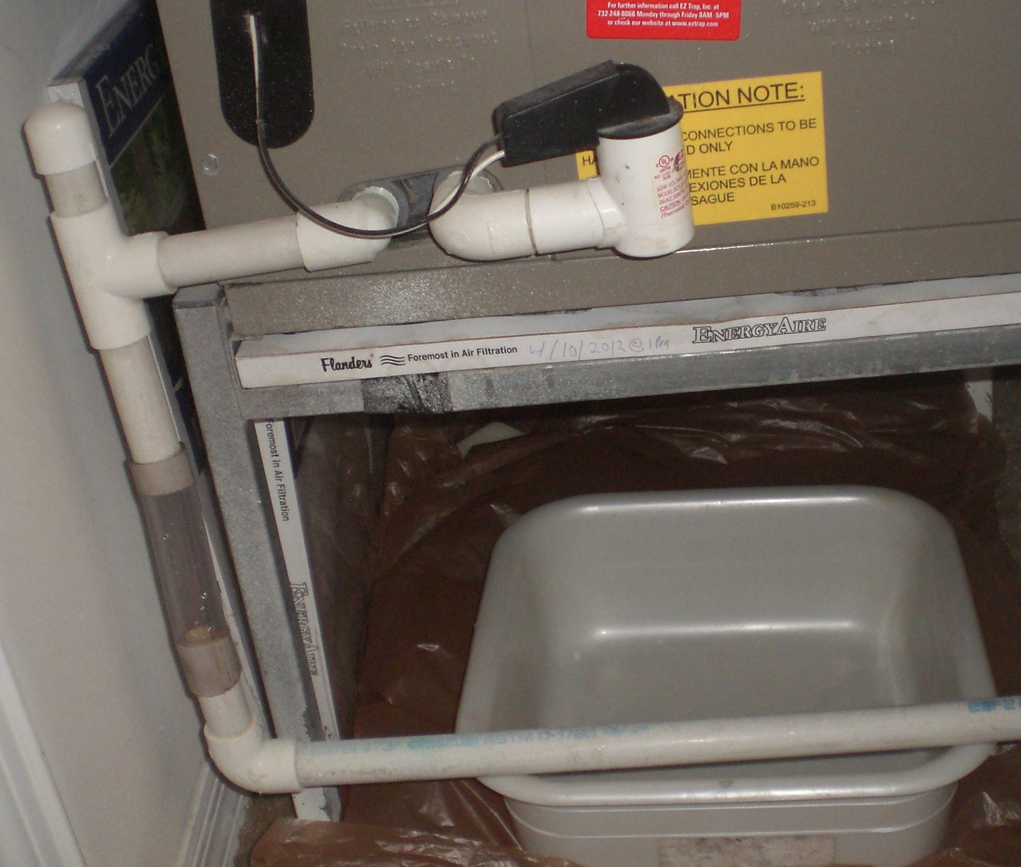 A C Leaking Water Window Air Conditioner Tank Vac