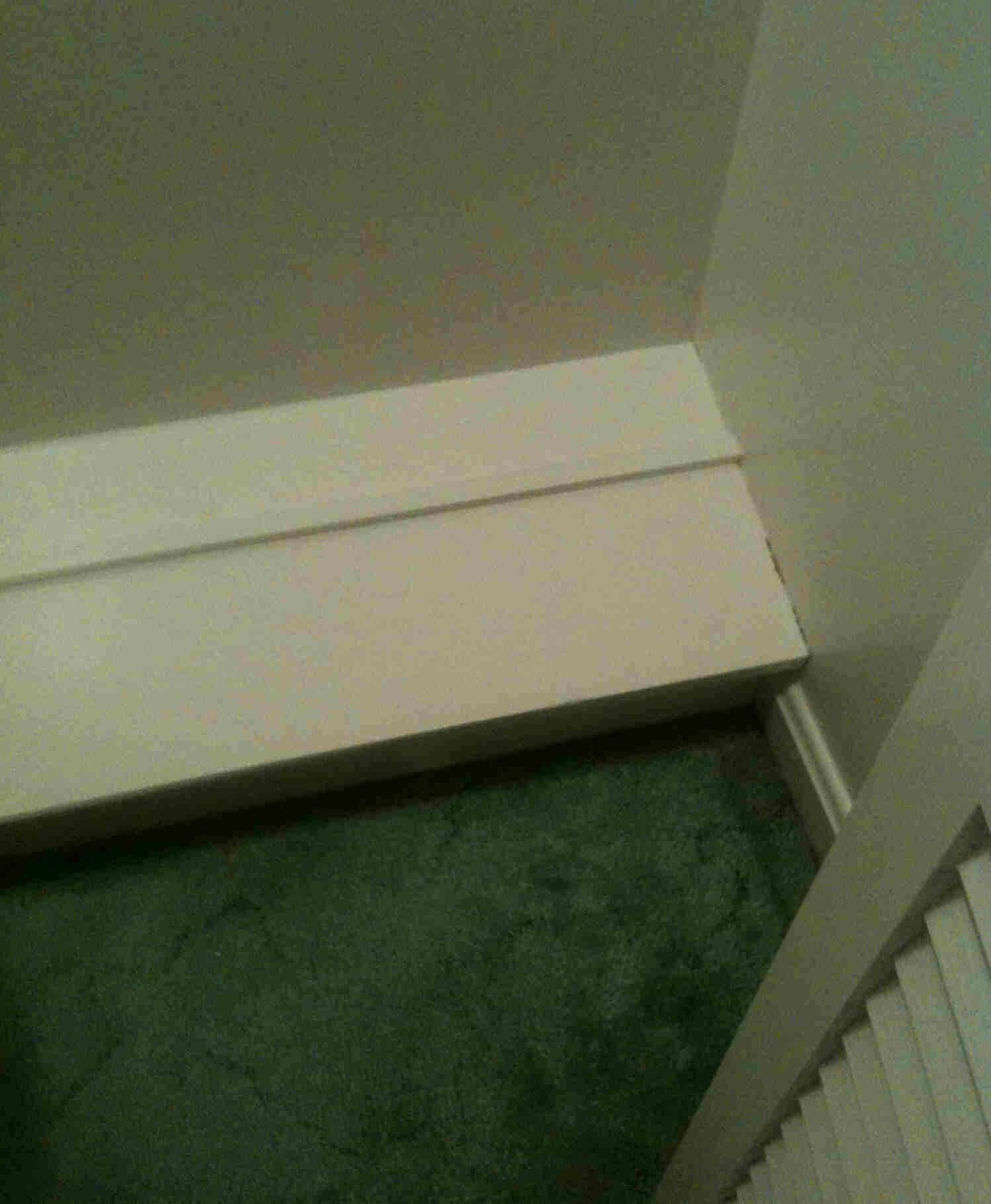 How To Remove Built In Shoe Racks From Closets  (PIC) New_house_closet_shoe_rack.