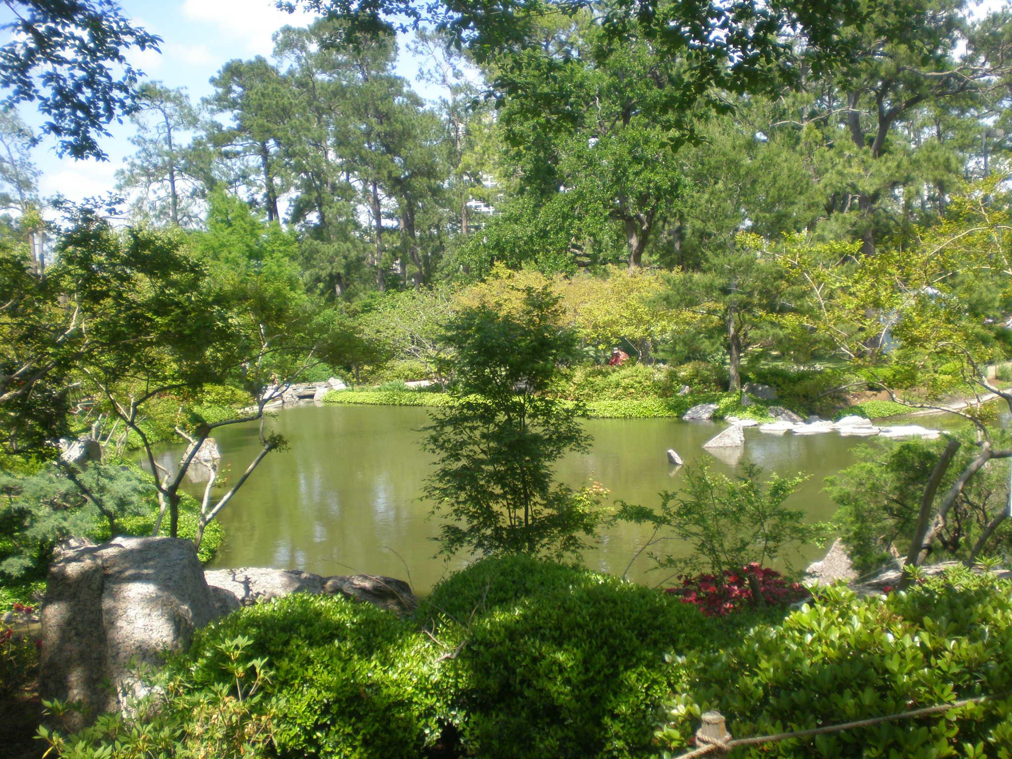 Japanese Garden In Hermann Park Japanese Gardens In Hermann Park Houston Portland File
