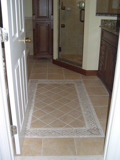 Tile Floor Inlays : Tile all around the house houston texas tx page