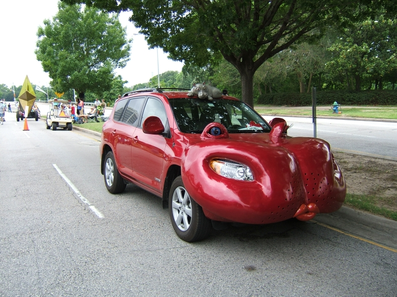 Art Car Parade Houston Howe Hutto Cars Donated Metro