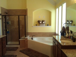 Bathroom Remodel Bathtub Or Big Shower Houston Katy