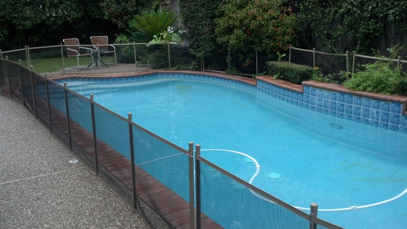 need a pool safety fence for