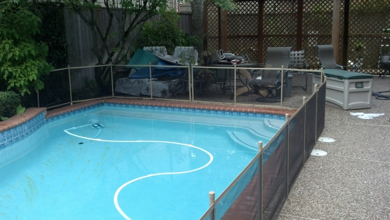 Need A Pool Safety Fence For Dogs Houses Closing Houston