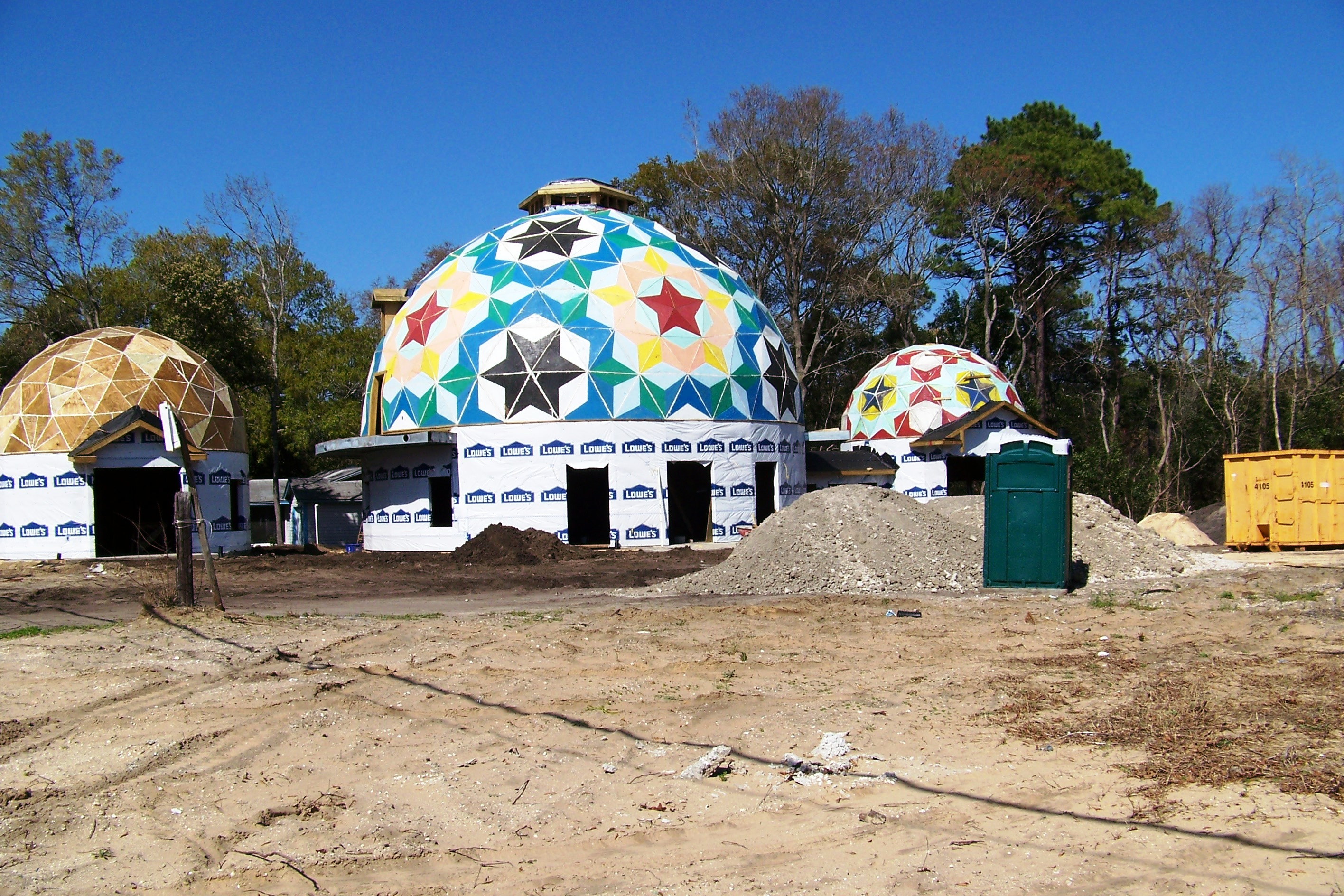 Geodesic Dome Homes Live Oak Crystal River For Sale