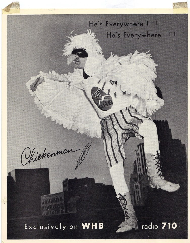 Long Ago On Independence Square Chickenman Poster