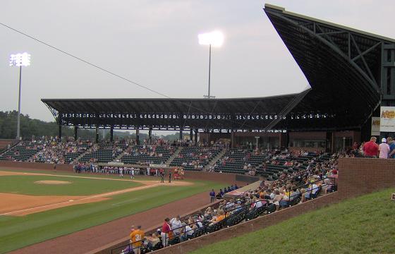 Rendering of new etsu baseball stadium johnson city franklin apartments house dorms for Garden city community college baseball