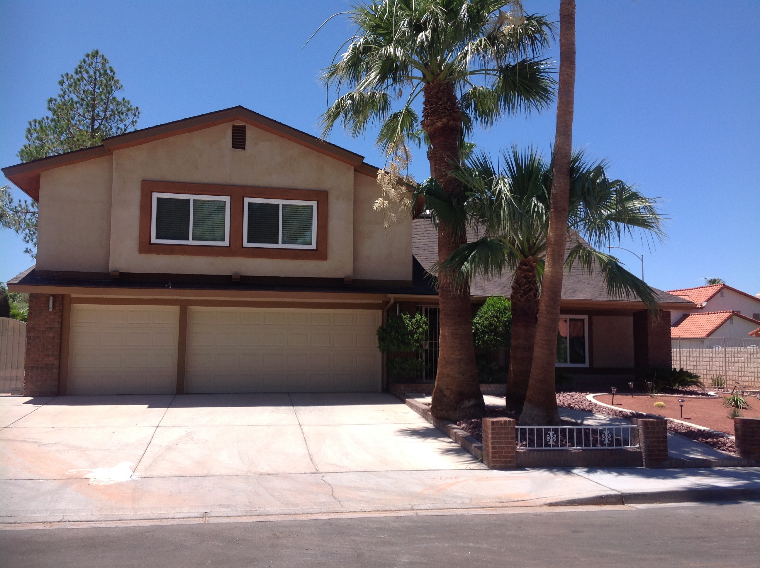 smooth flat stucco walls new house contractor mold Las Vegas