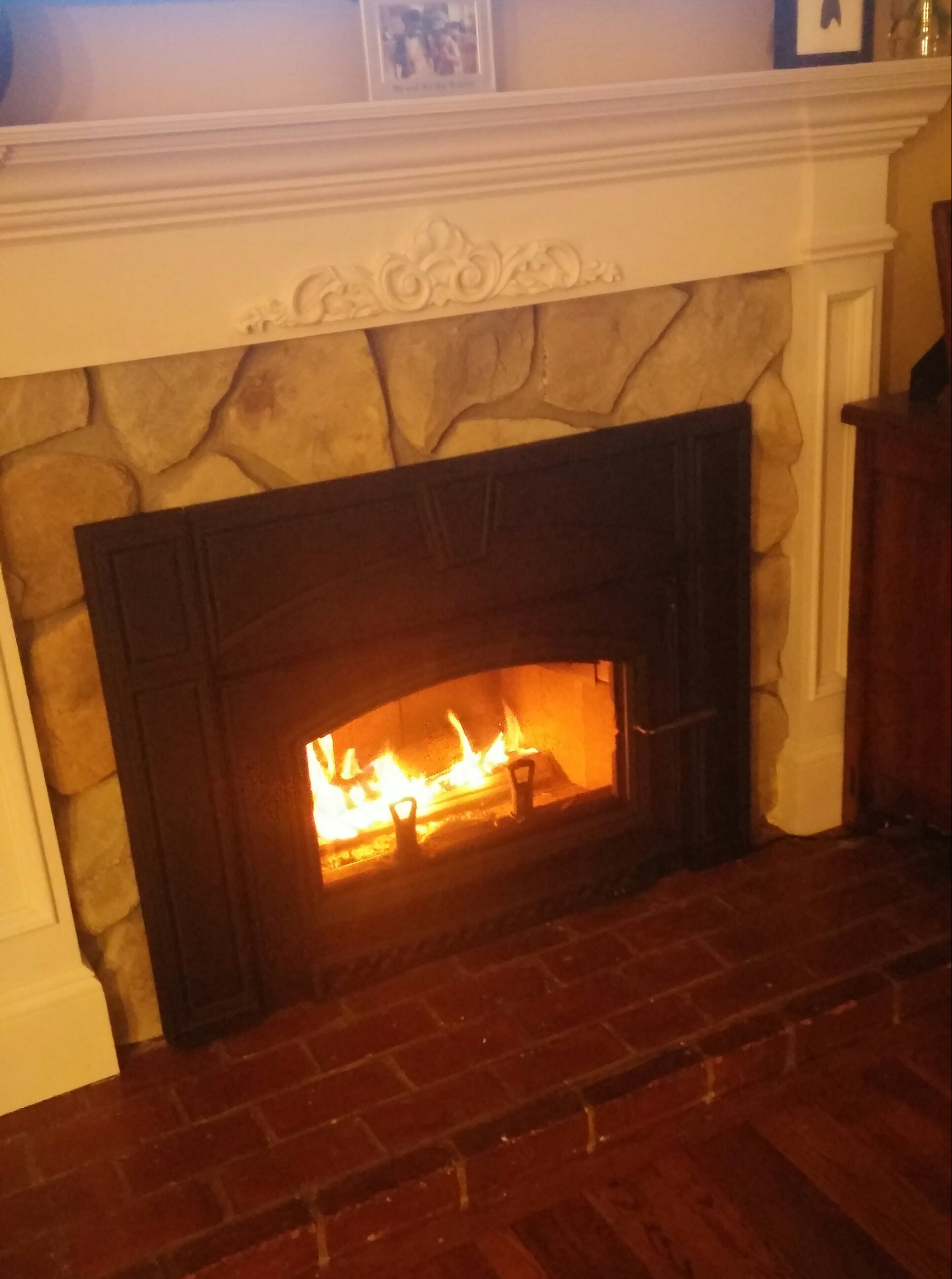 Wood Burning Fireplace Insert Merrick Wantagh Coop Home Purchase Long Island New York