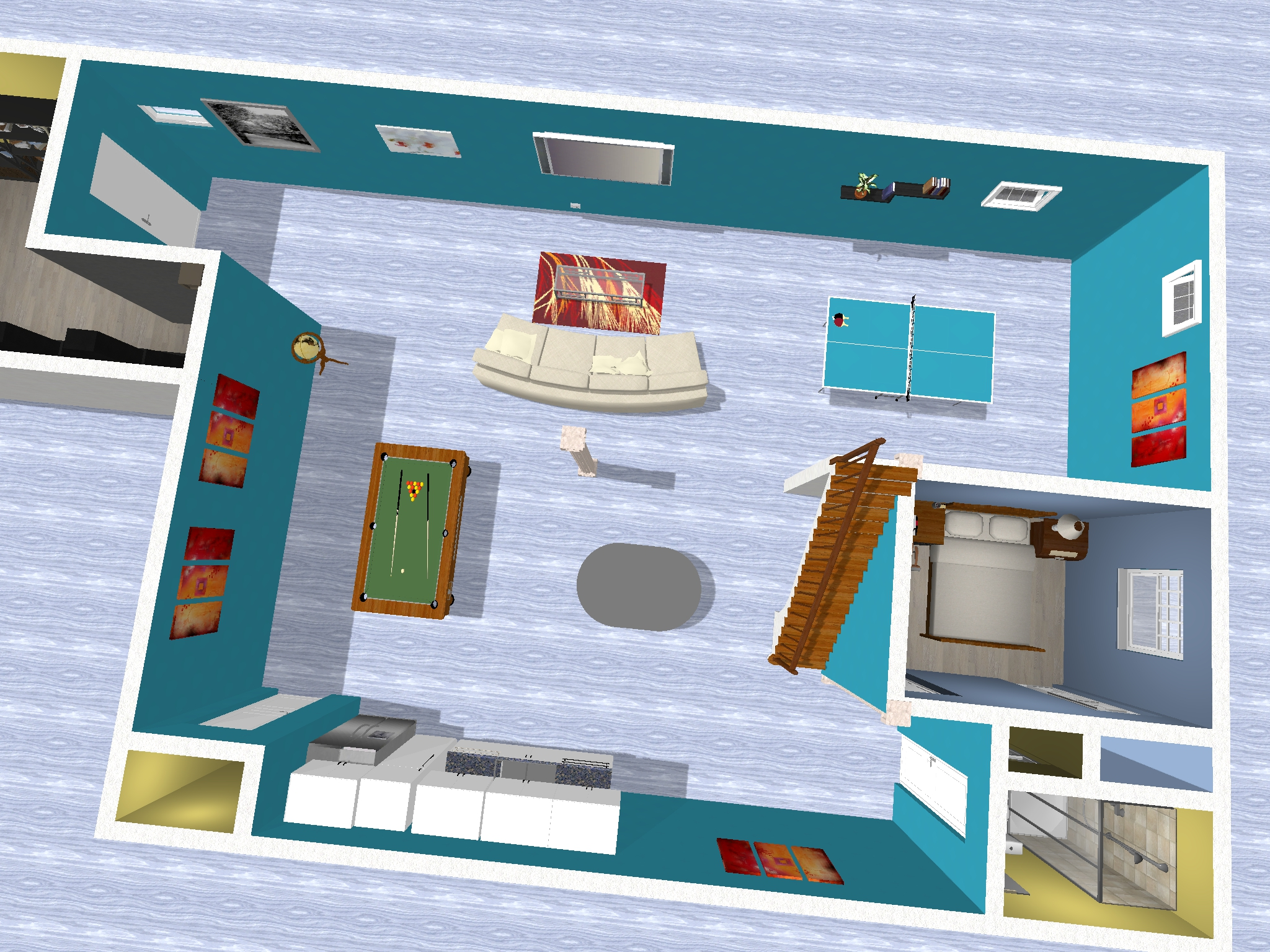 best way to heat finished basement living cost of
