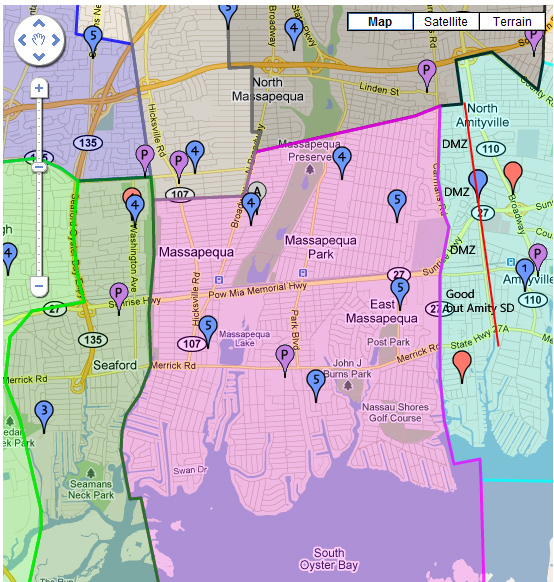 Massapequa school district 23 boundaries in dating 6