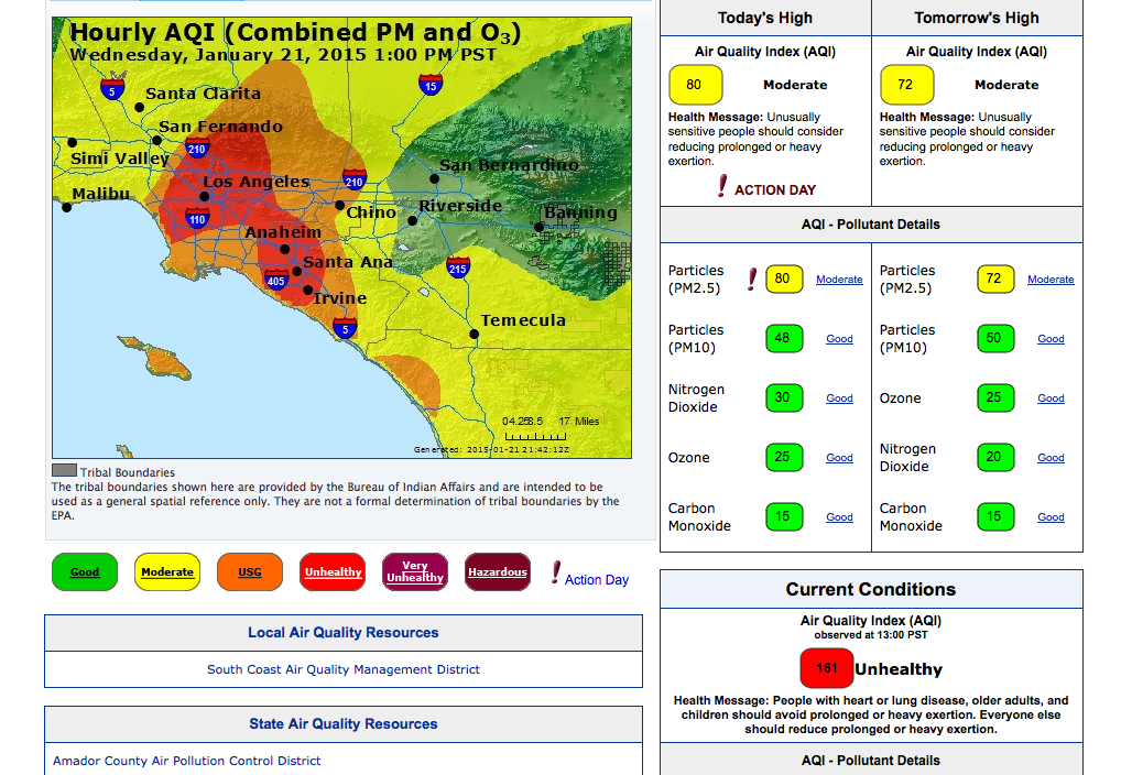 It S January And The Air Quality Is Absolute S Pasadena Home