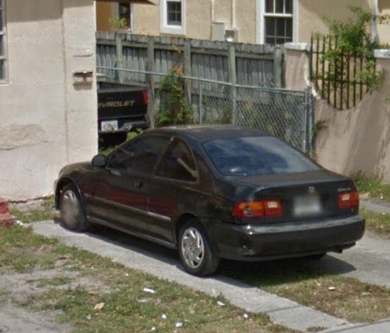 Superb Stolen 95 Honda Civic EX 2 Door Coupe Image