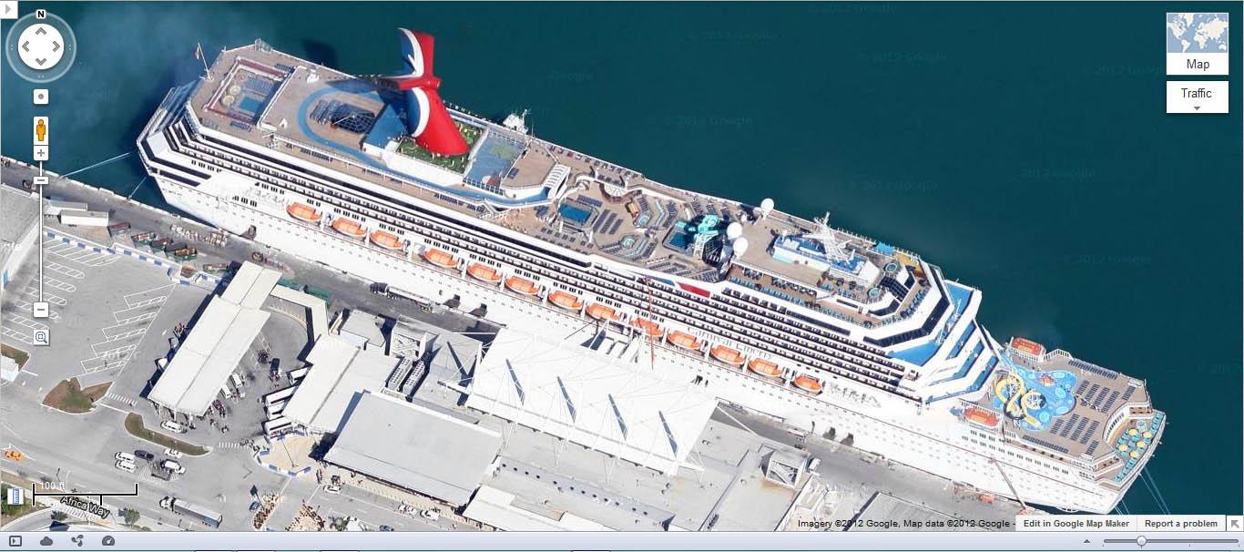 The Google Earth Street View Thread Miami Hialeah Home - Cruise ship google earth