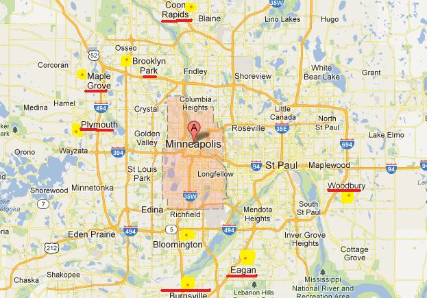 Twin Cities  16th largest metro area in the Country can you feel