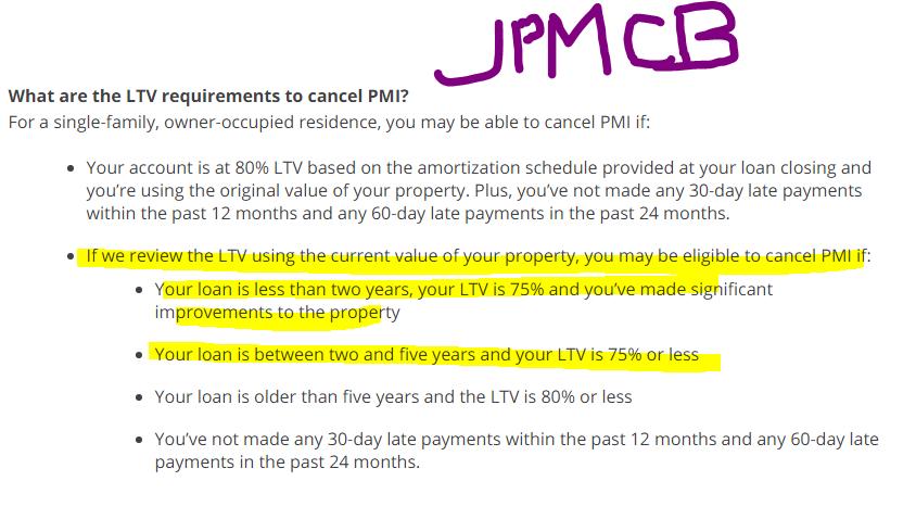 Lender wont cancel PMI insurance. I'm below 78% (2014