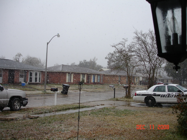 Oh My Goodness!!! SNOW!!!! (New Orleans, Baton Rouge ...