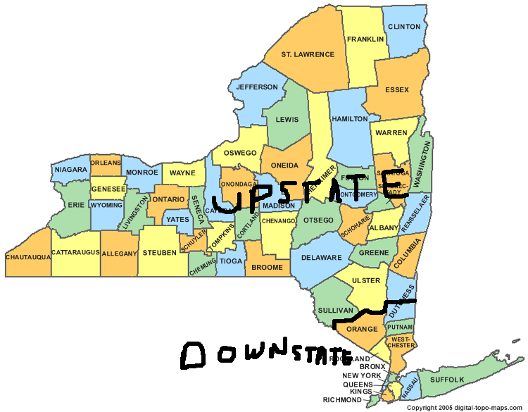 Gillibrand And The Real Upstate Region Of Nys New York