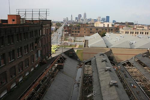 cleveland skyline vector. take Cleveland skyline