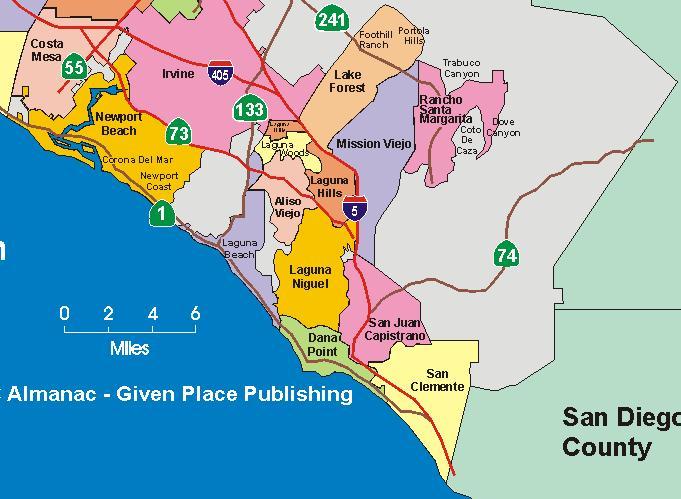 North OC vs. South OC (Irvine, Orange: oceanfront, to buy, to live on