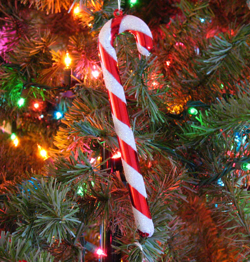 Candy Cane Christmas Tree