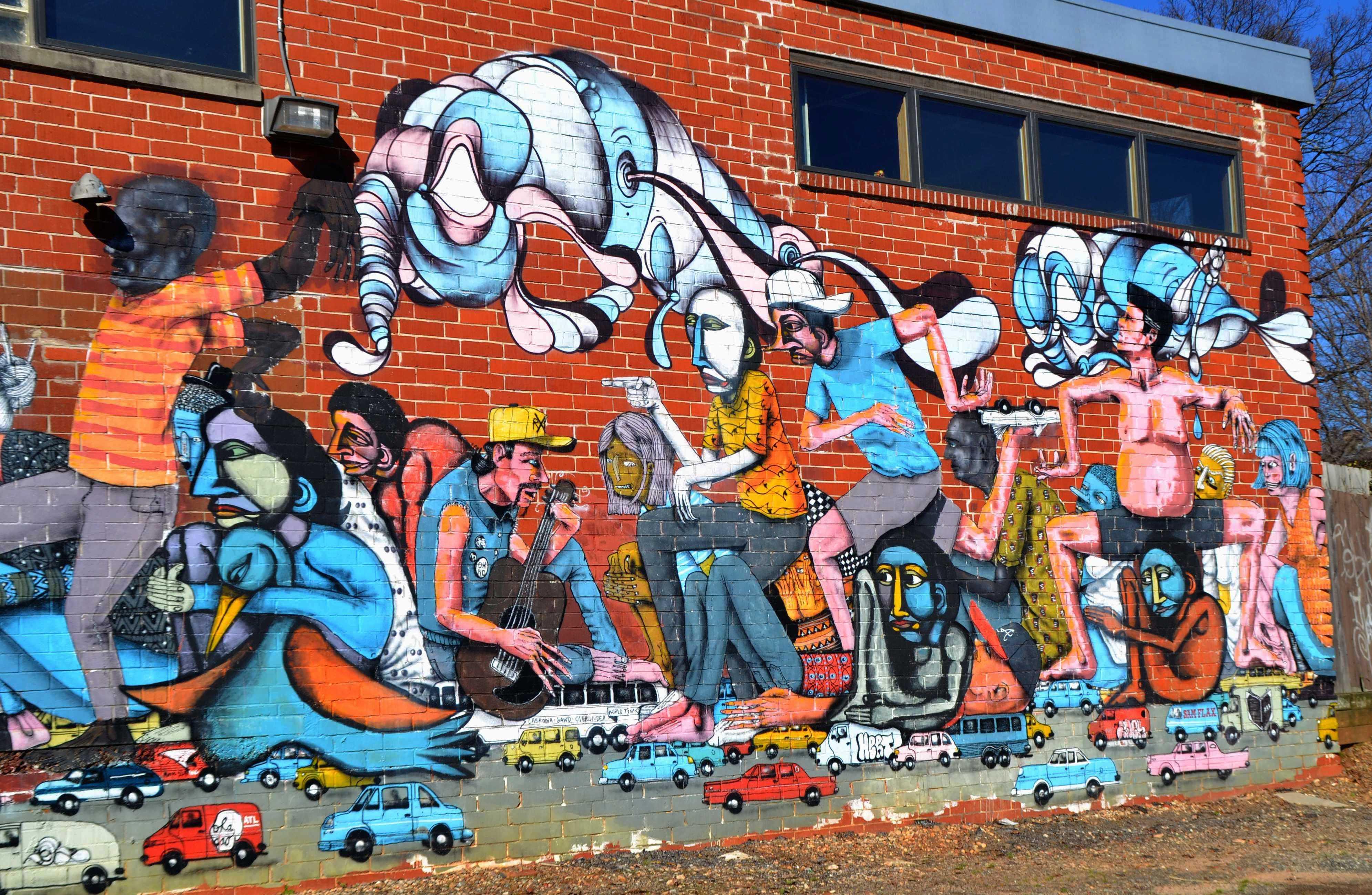 pics photos 3d graffiti art mural on the wall graffiti retro graffiti artistic urban background wall mural