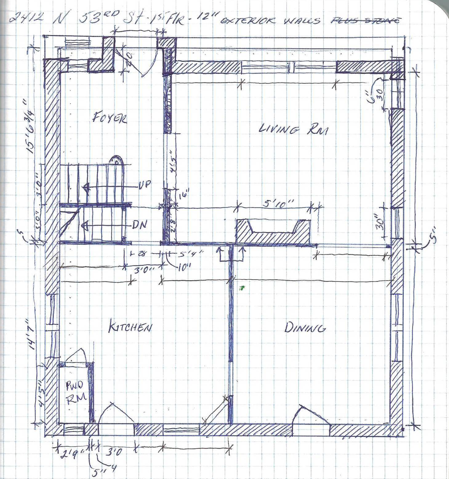 Four square house plans four square house floor plans old for Four floor house design