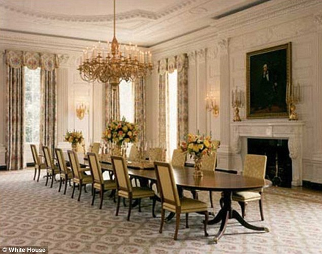 Superbe Michelle Obama Spends 0,000 To Redecorate White House Dining Room Image