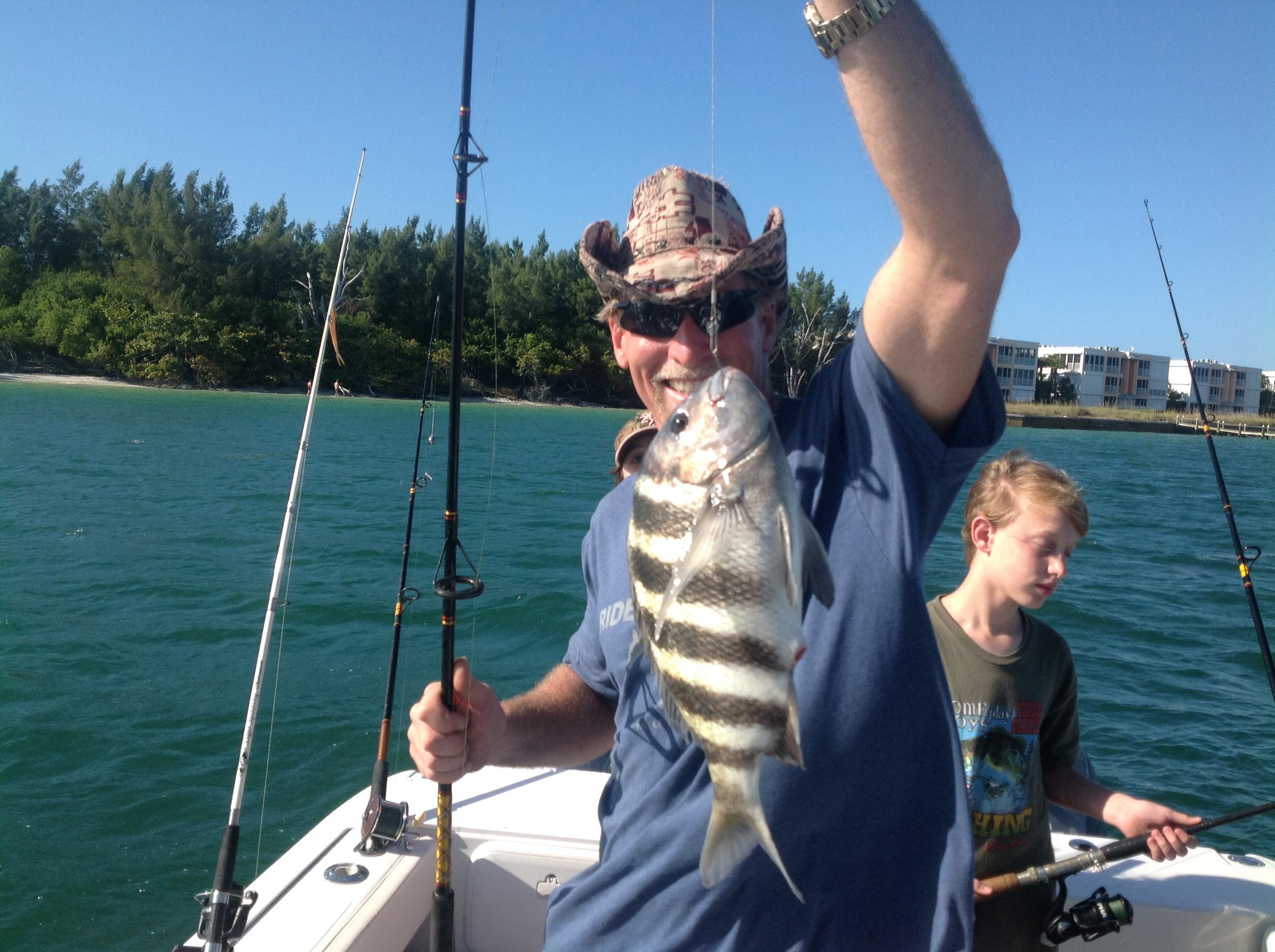 Fishing charlotte harbor area christmas greatest for Punta gorda fishing