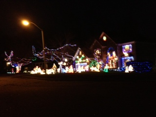 Christmas Light Houses