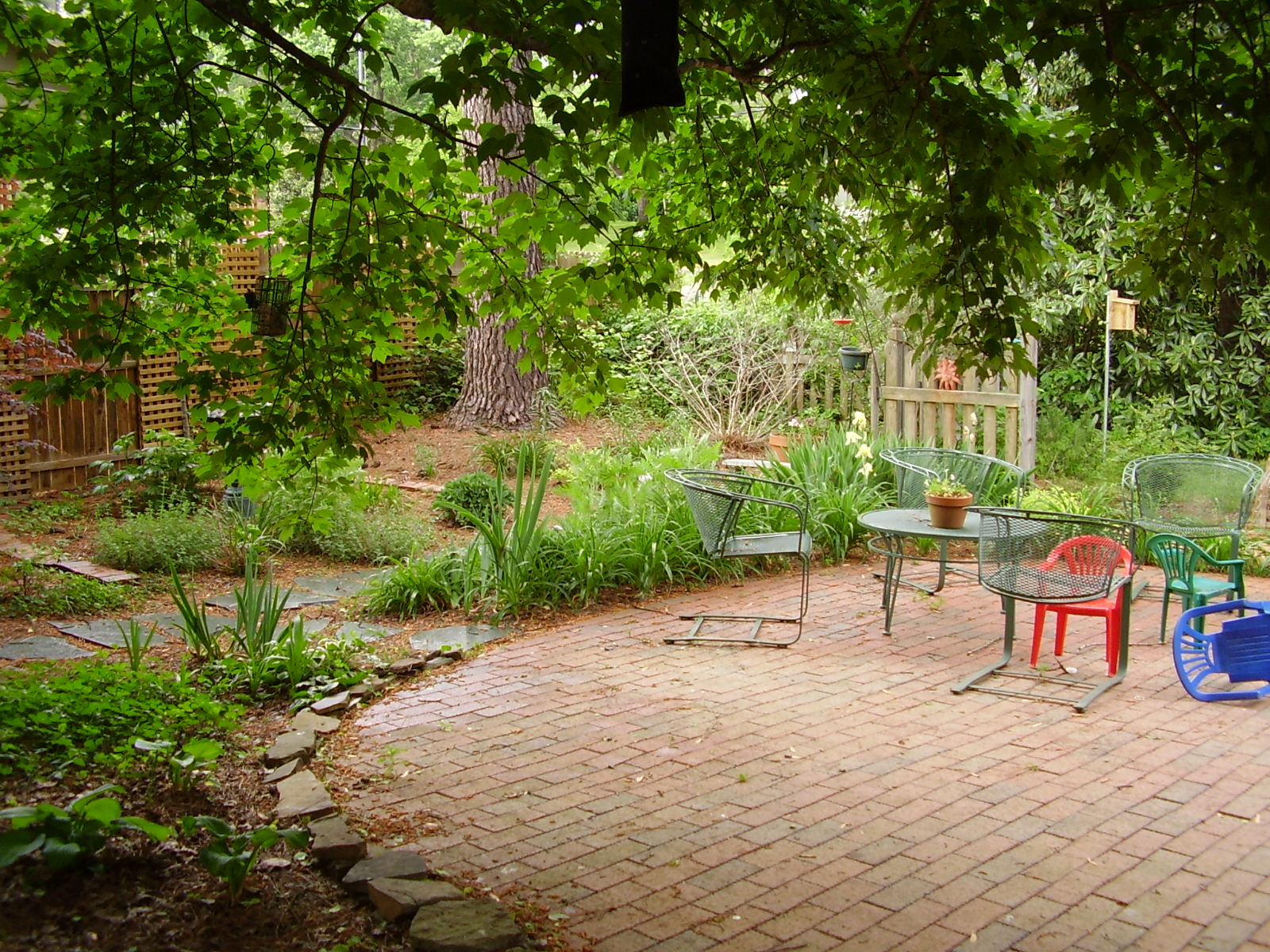 Show me your backyard oasis who did it how much it Backyard design pictures