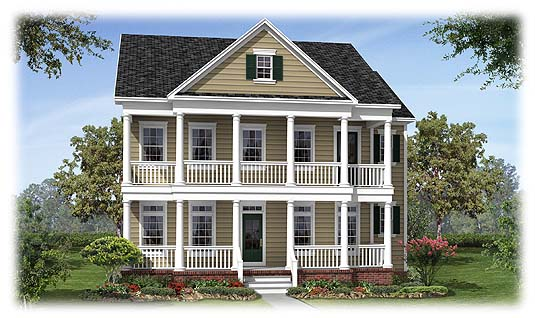 Southern style house home design and style for Southern style homes