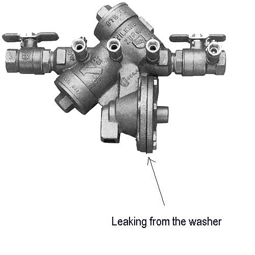 how to fix irrigation valve