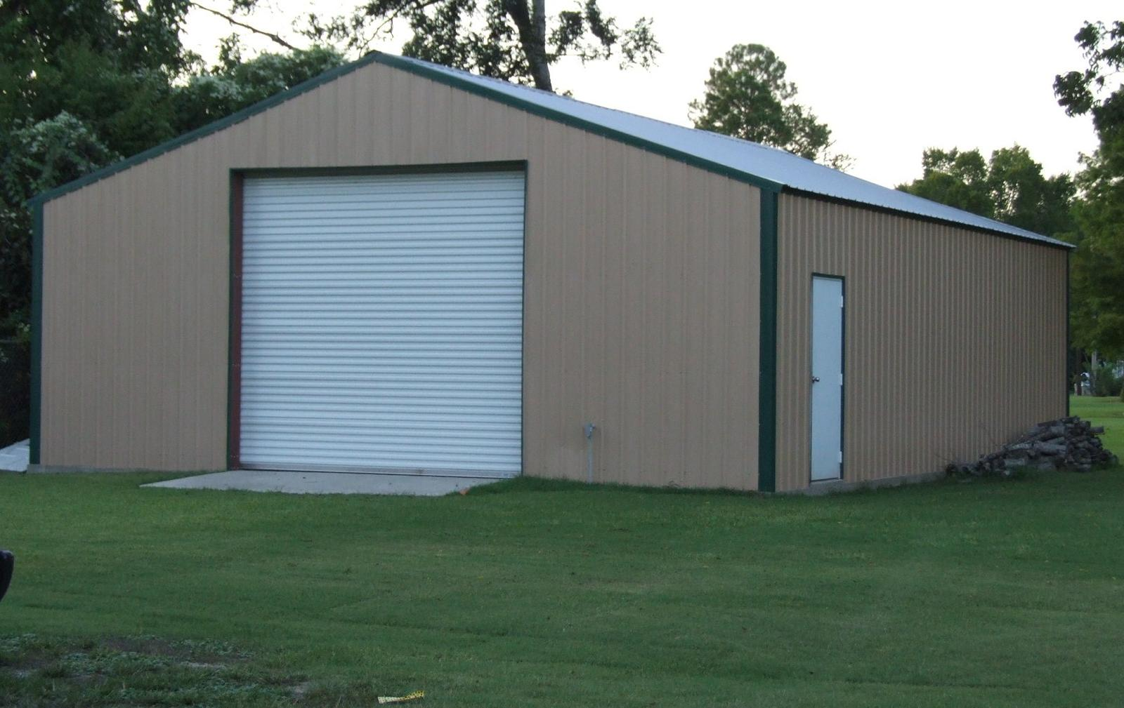 ^ Pole barn used as a home (buildings, septic tank, shed, insulation ...