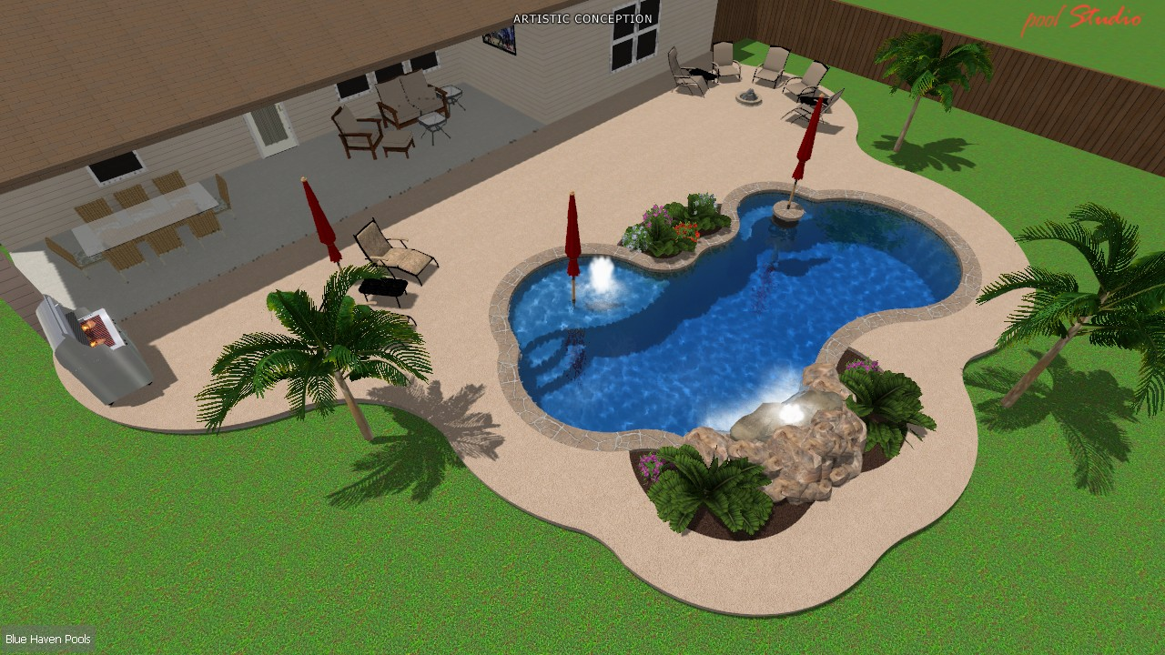 Swimming Pool Contractor Recommendations San Antonio Anton Companies Builder Reputation