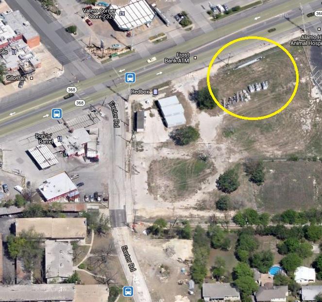 Construction On Austin Highway/Exeter (San Antonio, Nacogdoches: Apartment, Live, Gym)