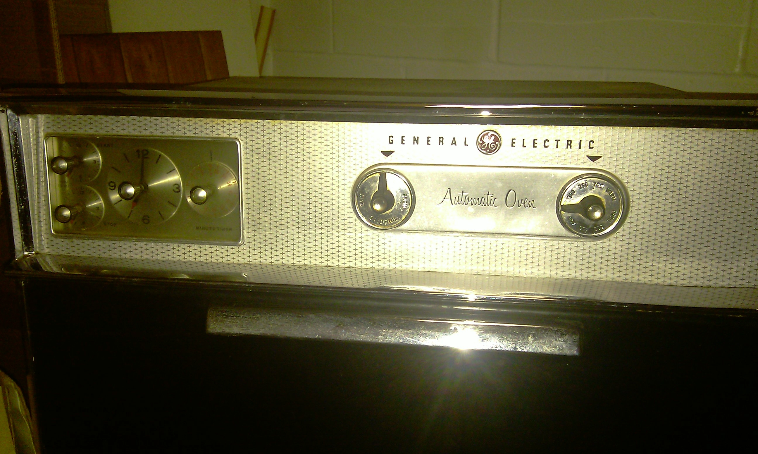 1960s Wall Oven Old Electric Wall Oven Needed