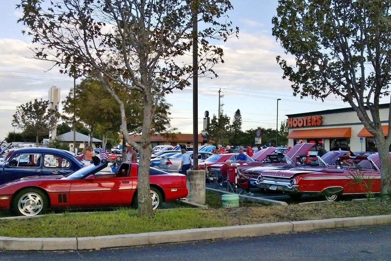 Car Show tonight at Hooters in Bradenton (Plantation, Sarasota ...